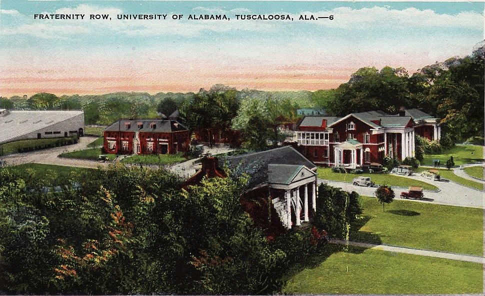 Alabama Frat Row