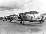 Albany Army Airfield - PT-17 Stearmans on Flight Line 2.jpg