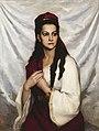 Albert Edelfelt - Portrait of actress Hedvig Raa-Winterhjelm.jpg