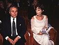 Alberto Arbasino con Margaret Mazzantini nel 1994, 03.jpg