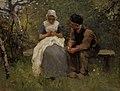 Albertus Johan Neuhuys (1844-1914) - The Old, Old Story - NG 1473 - National Galleries of Scotland.jpg