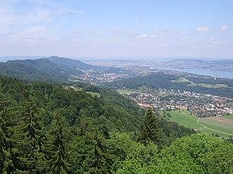 Leimbach (Zürich) - Image: Albis Langnau