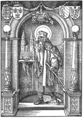Saint Sebald in the Niche