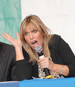 Alessandra Mussolini, Italian conservative pol...