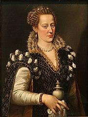 Portrait of Isabella de' Medici