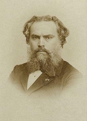 Alexandre Cabanel - Alexandre Cabanel, ca.1865. Photograph by Charles Reutlinger (?)