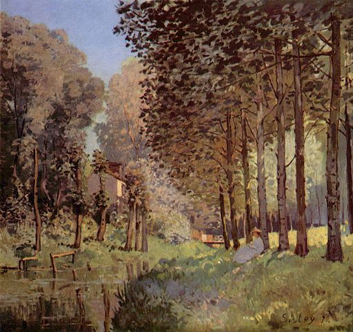Alfred Sisley 049 - This picture, from Wikipedia, is in the public domain