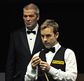 Ali Carter and Jan Verhaas at Snooker German Masters (DerHexer) 2013-02-02 11.jpg