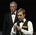Ali Carter and Jan Verhaas at Snooker German Masters (DerHexer) 2013-02-02 11.jpg