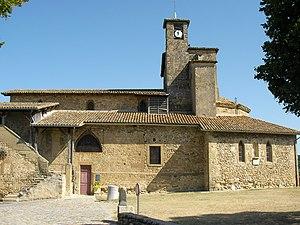 Alixan - The church of Saint-Didier