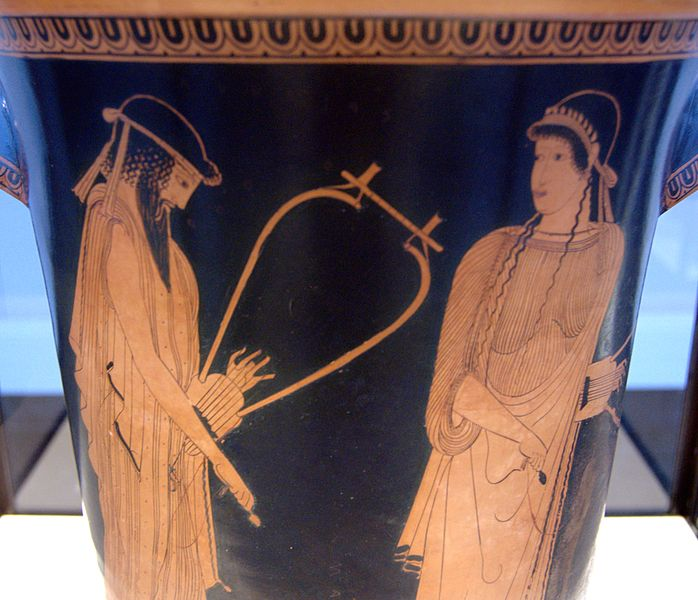 Archivoalkaios Sappho Staatliche Antikensammlungen 2416 N1