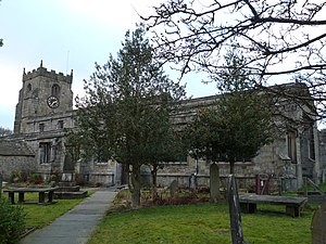 Giggleswick - The church of St Alkelda