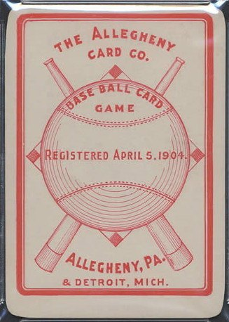 Allegheny's The Baseball Card Game