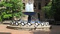 Allegheny County Courthouse Fountain June 2009.jpg