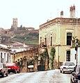 Almonaster la Real, die Straße Calle Jacinto Navas.jpg