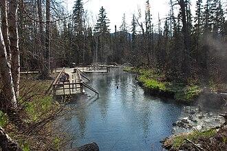 Liard River Hot Springs Provincial Park - Alpha Pool