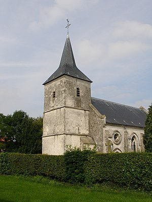 Alquines - The church of Alquines