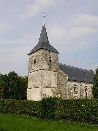 Alquines - The church of Alquines