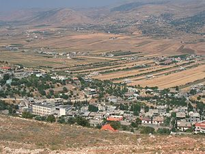 Al-Rafid, Lebanon - View of the northeastern part of al-Rafid