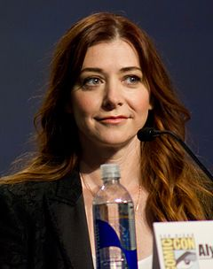 Alyson Hannigan på San Diego Comic-Con International