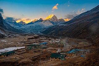 Pheriche Village in Province No. 1, Nepal