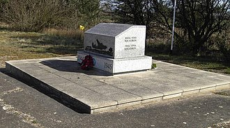 Operation Carpetbagger - Carpetbaggers Memorial at RAF Harrington