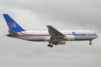 Amerijet International - Amerijet Boeing 767-200F