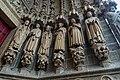 Amiens - La Cathédrale Notre-Dame d'Amiens 1220-88 - Le portail Saint-Firmin - The Saint Firmin Portal - Depiction in Statues of Saints with their Relics I.jpg