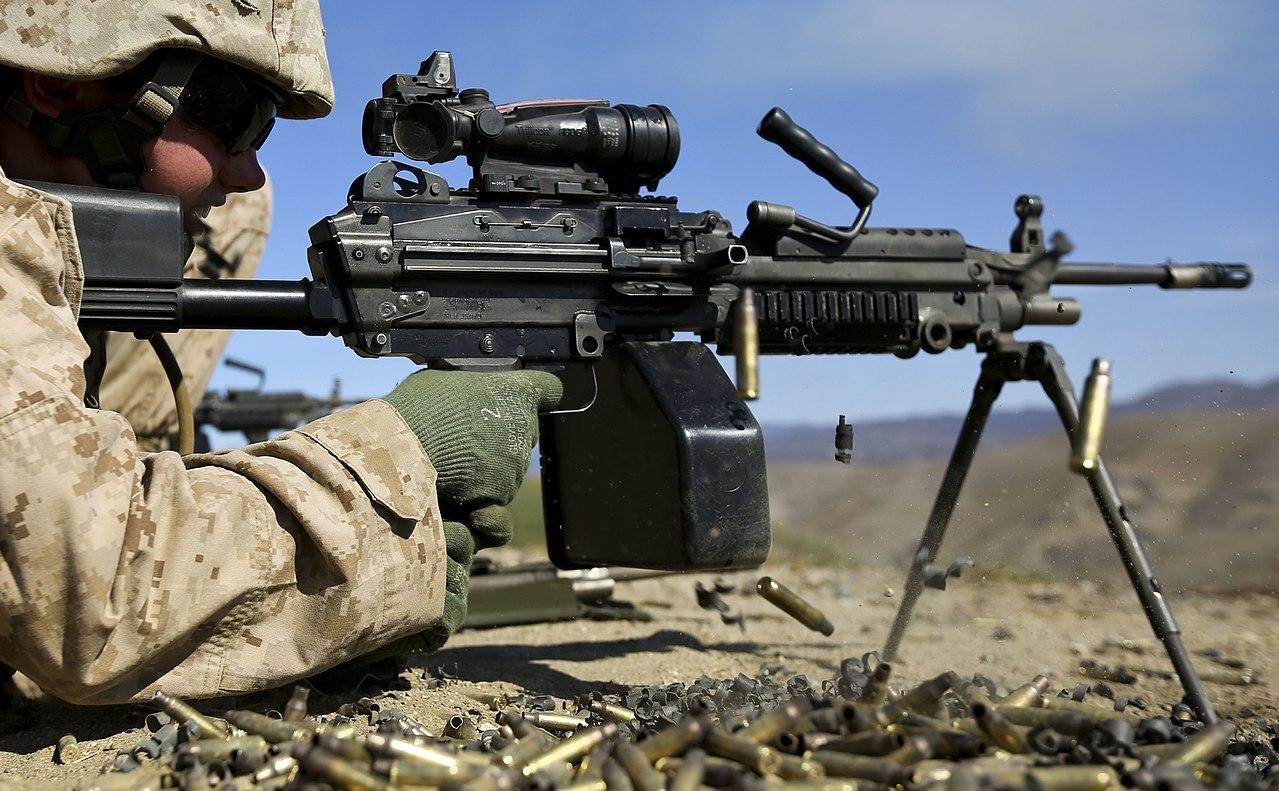 machine gun range