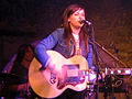 Amy Macdonald on stage at T On The Fringe After Party at The Caves, Edinburgh.jpg
