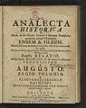 Analecta Historica De Sacra, in die Natalis Domini a Romanis Pontificibus 1726 (69841863).jpg