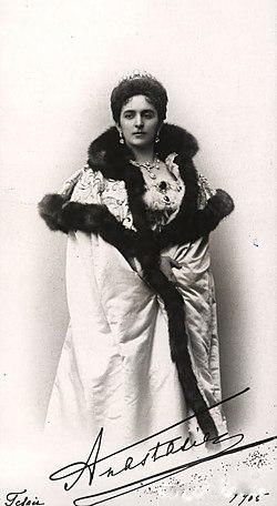 Anastasia of Montenegro, Duchess of Leuchtenberg Grand Duchess of Russia.jpg