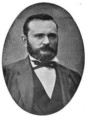 Alphonse Tavan - Alphonse Tavan in 1897