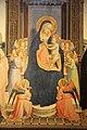 Angelico, pala di fiesole, con sfondo di lorenzo di credi, 02.JPG