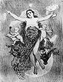 Angelo Agostini, 1884, A Noite e os Gênios do Estudo e do Amor.jpg