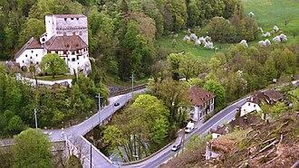 Duggingen - Image: Angenstein Uebersicht Anlage