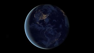 File:Animation of Rotating Earth at Night.webm