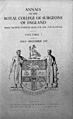 Annals of the Royal College of Surgeons Wellcome L0031489.jpg