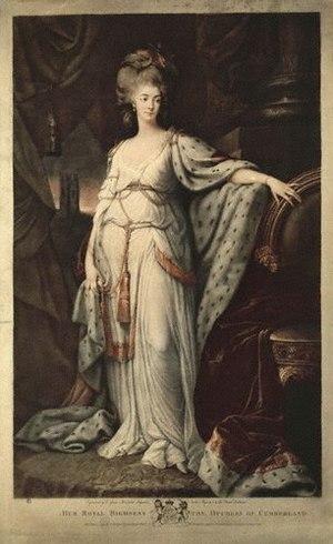 Anne, Duchess of Cumberland and Strathearn