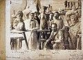 """Anonyme, """"Bourdelle et ses praticiens dans son atelier"""", juillet 1903, tirage gélatino-argentique contrecollé sur carton, 29 x 39,5 cm, Paris, musée Bourdelle, MBPH273.jpg"""
