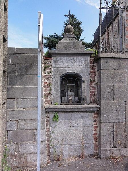 Anor (Nord, Fr)chapelle St.Hubert, rue Général de Gaulle (circuit chapelles)
