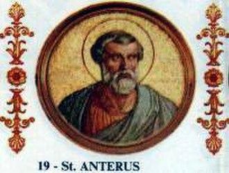 Pope Anterus - Image: Anterus
