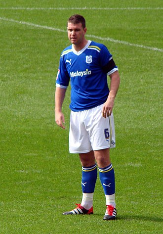 Anthony Gerrard - Gerrard playing for Cardiff City in 2011