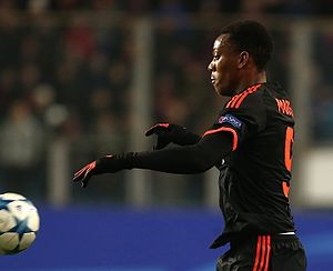 Anthony Martial - Martial playing for Manchester United in 2015
