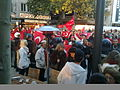 Anti-PKK protest in Frankfurt, Germany on Zeil 05.jpg
