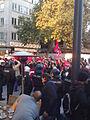 Anti-PKK protest in Frankfurt, Germany on Zeil 06.jpg