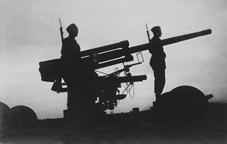 Bofors 75 mm Model 1929 - The m/29 and m/30 guns formed the backbone of the Swedish passive air defence during and immediately after World War II