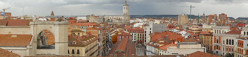 Panorámica del centro de Valladolid
