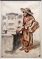 Antoine watteau, savoiardo in piedi con il mondo nuovo, 1715 ca. (boijmans van beuningen).jpg