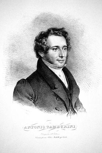 Alahor in Granata - Antonio Tamburini, 1828